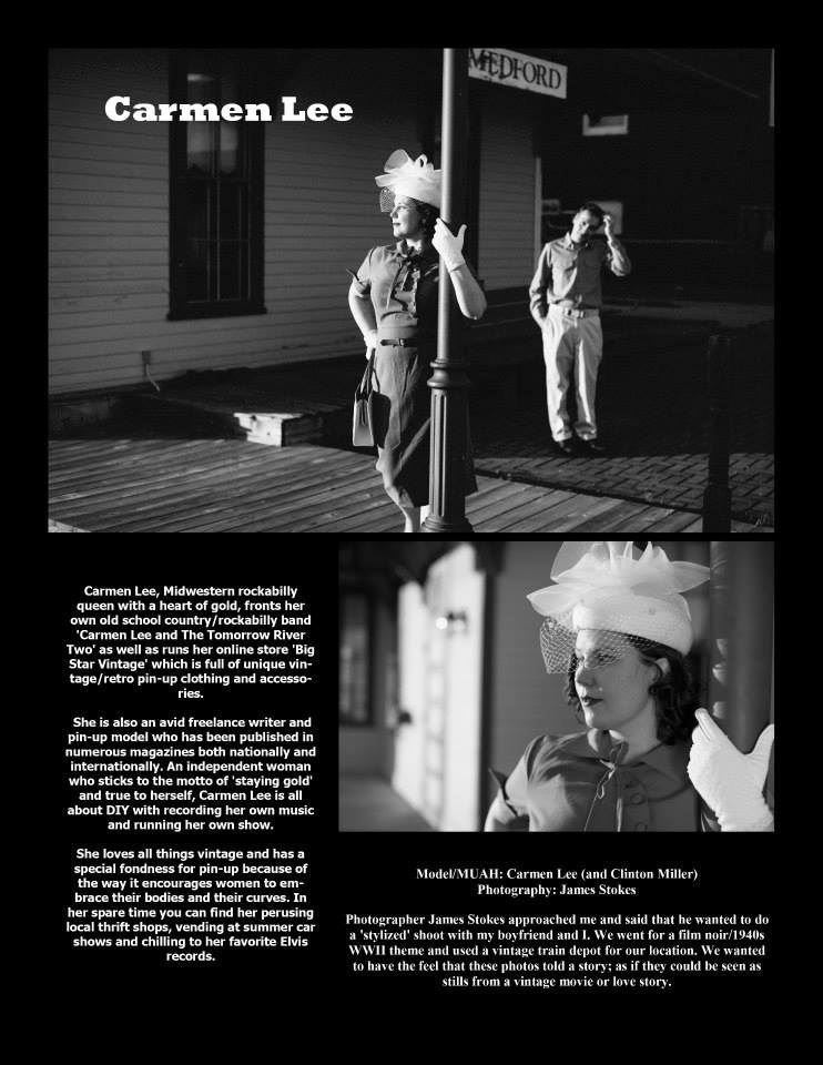 Lush Kittens Pinup Magazine Film Noir Edition