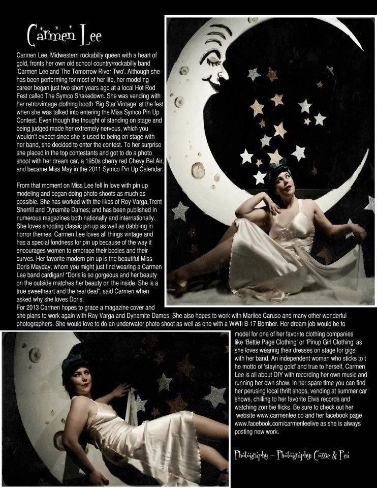 Riot Vixen Magazine Pinup Edition #1
