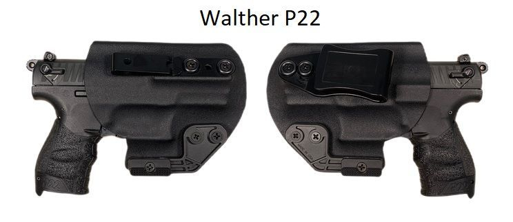 Walther P22 IWB holster