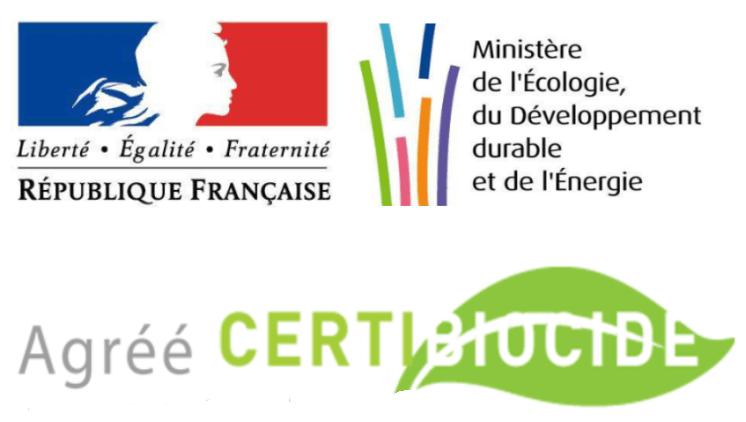 certibiocide, biocide, agrément, désinfection, nettoyage, Toulouse, Muret, Saint-Lys, agréé,
