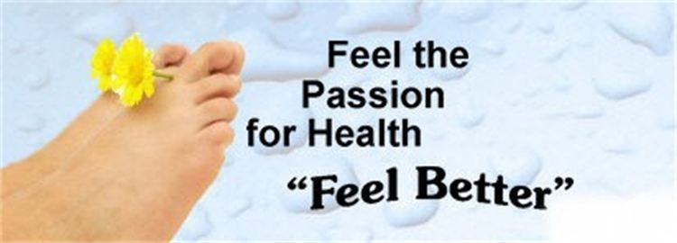 Ionic Detox Foot Bath feel the passion for better health