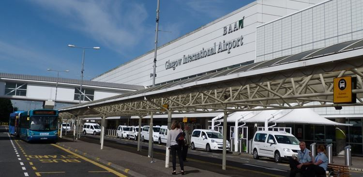 glasgow airport private transfers