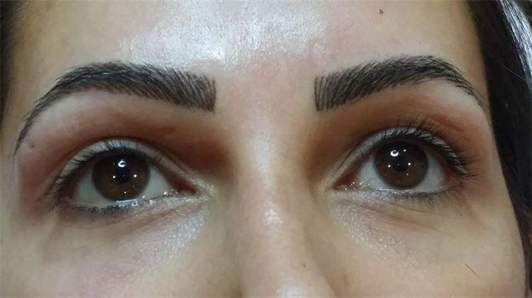 3D Hair stroke Brows