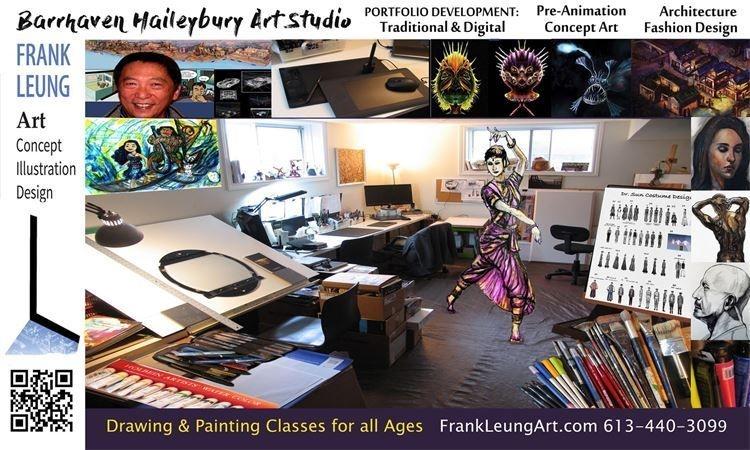 2017 Fall Term Art Classes at Barrhaven Haileybury Art Studio