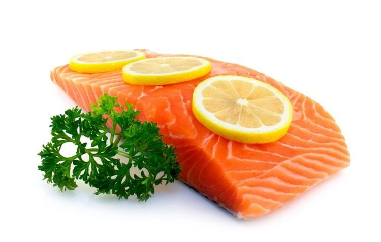 Healthy Atlantic Salmon - rich in Omega 3 and DHA - Good for You. Make sure it is fresh.