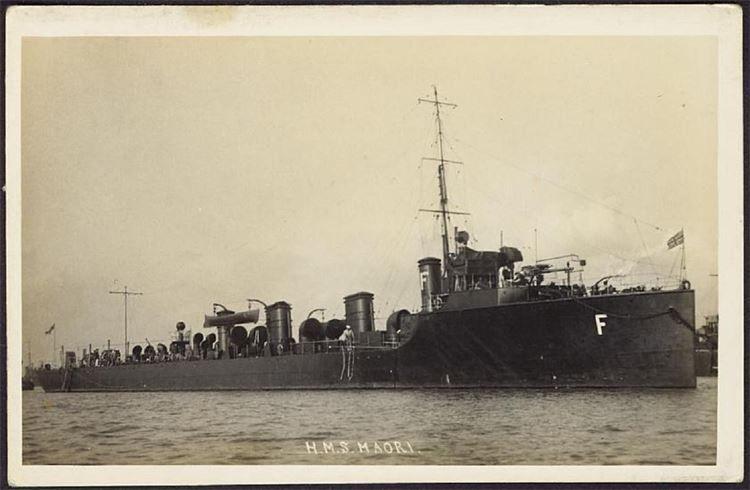 HMS MAORI-3-1909-1915