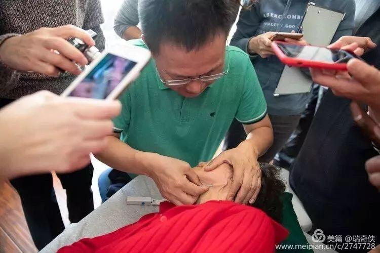 Dr. Zhonghua Fu performing FSM.