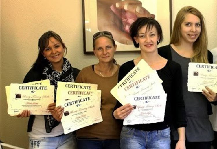 beauty training Certificate2013 (1)