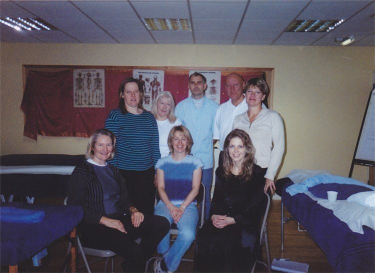 Sculpturing Massage course, Surrey 2005 - Russian Translations Plus