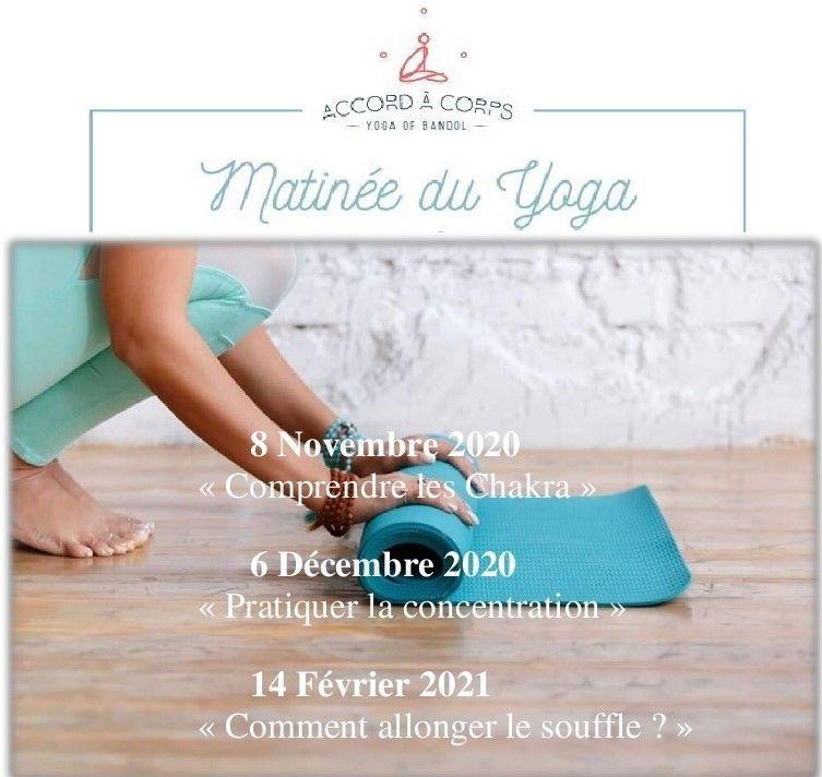 Matinée du Yoga Bandol