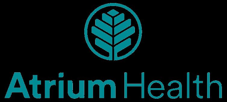 Logo with words Atrium Health