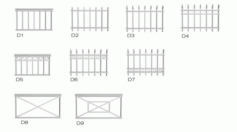 Aluminum Deco Railing