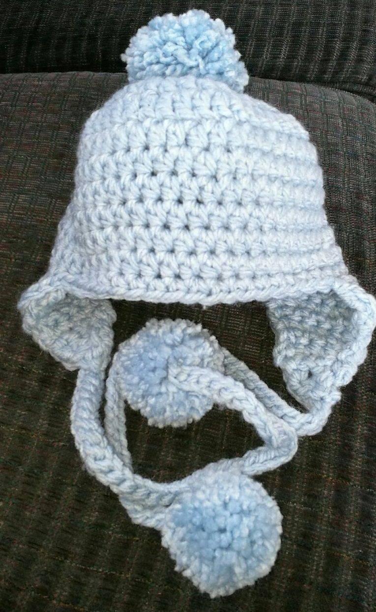 Ear Muff Baby Hat