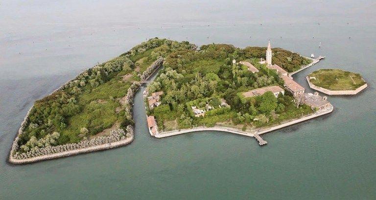 L'île Poveglia (Italie)