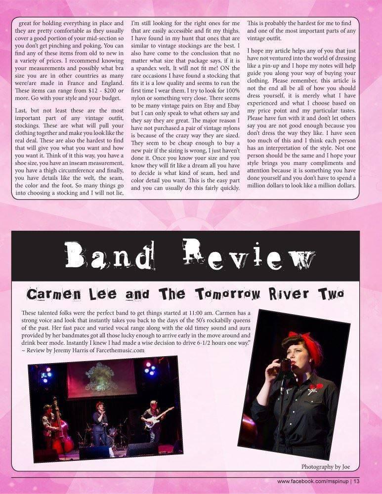 Ms Bombshell Magazine Summer Issue