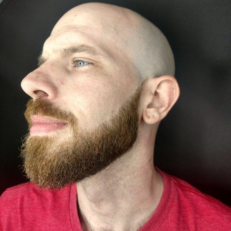 Bald fade straight razor mens grooming charlotte barber beard