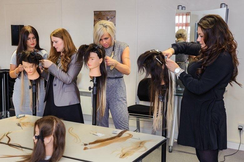 Hair Extensions Training Class