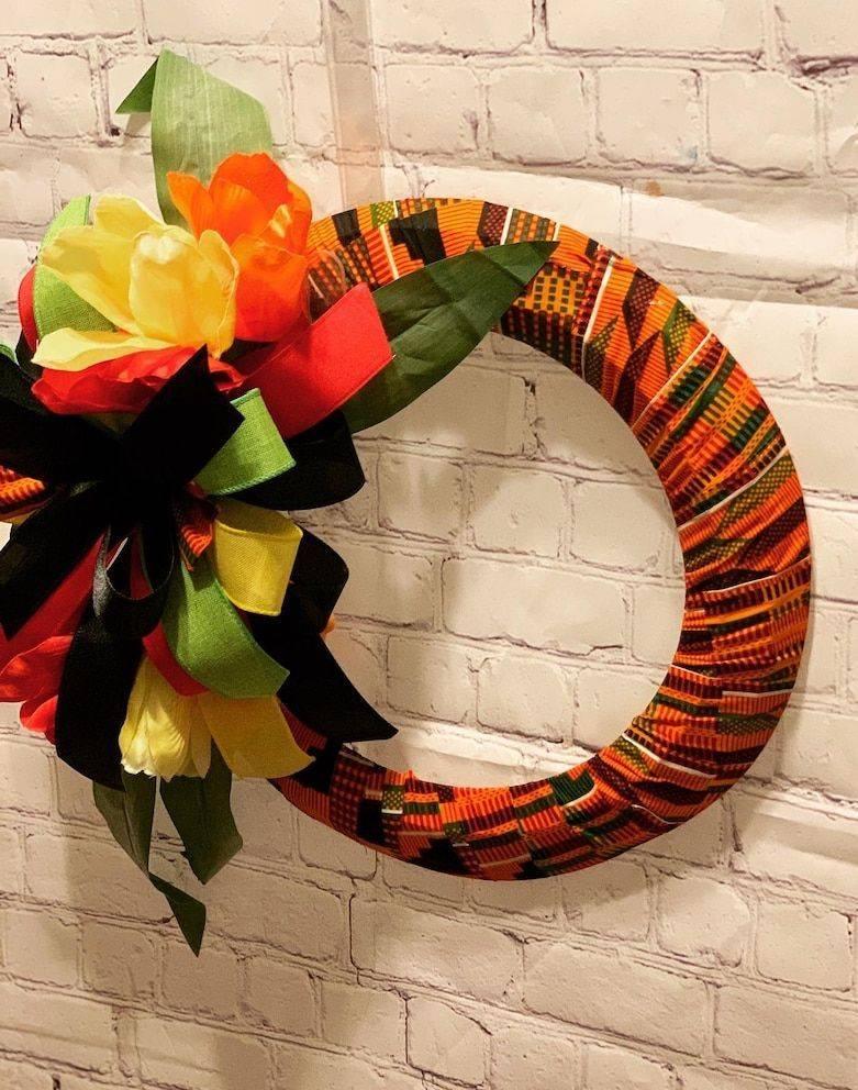 African Pride Wreath