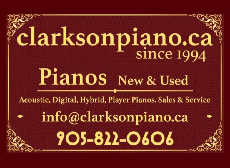 clarkson piano offers new and used pianos, since 1994. currently we offer kawai, yamaha, steinway, baldwin, samick, used pianos and are involved in new kawai, c. bechstein, w. hoffman, zimmermann, schimmel acoustic pianos; incredible hybrid pianos, and player grand pianos inclkuding systems by qrs and iq pd..