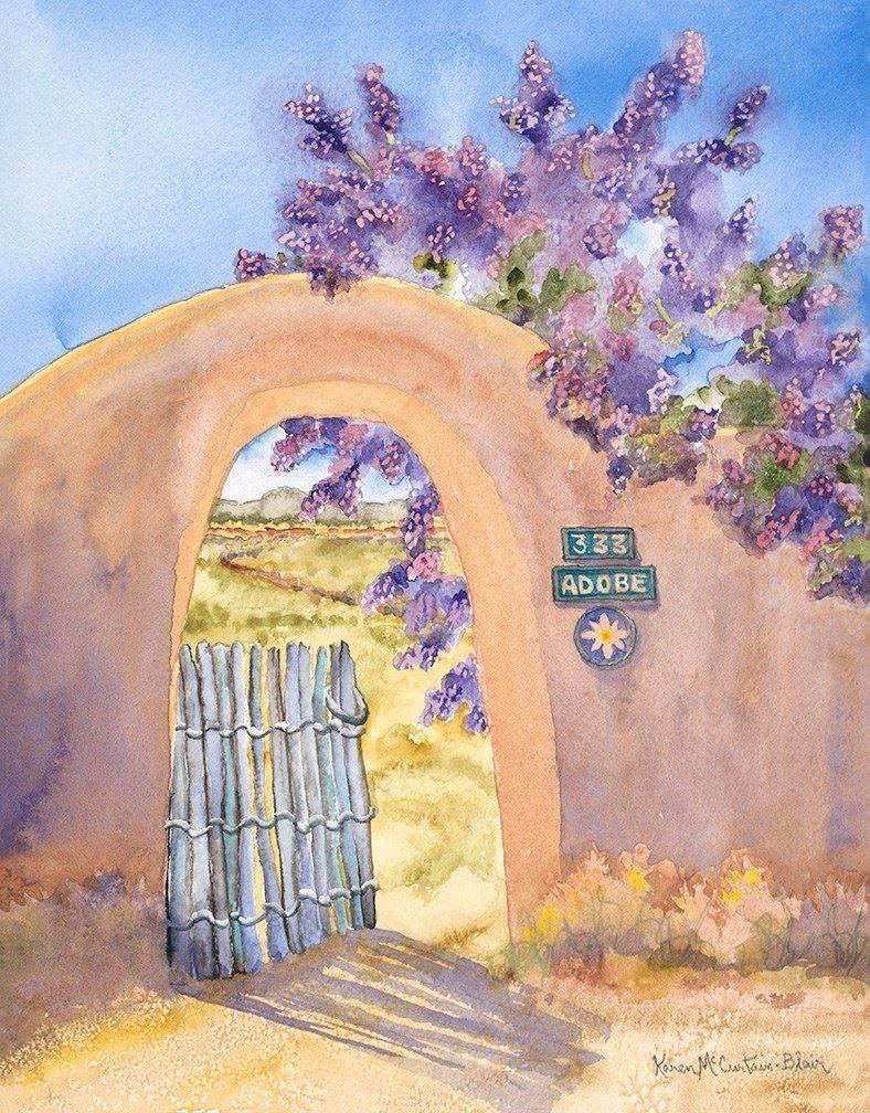 """""""Lilac Afternoon"""" -Karen McCurtain-Blair"""