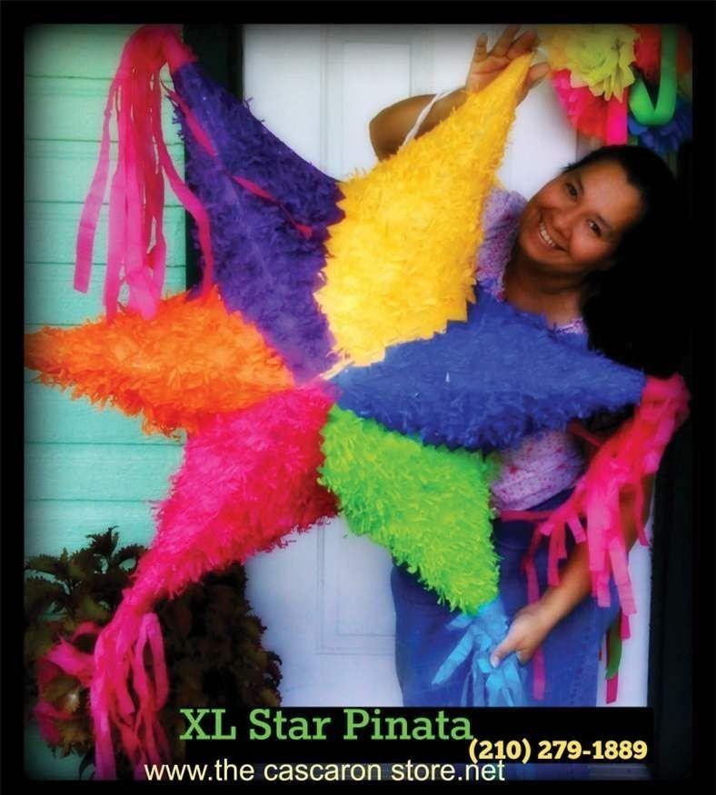 fiesta large star pinata