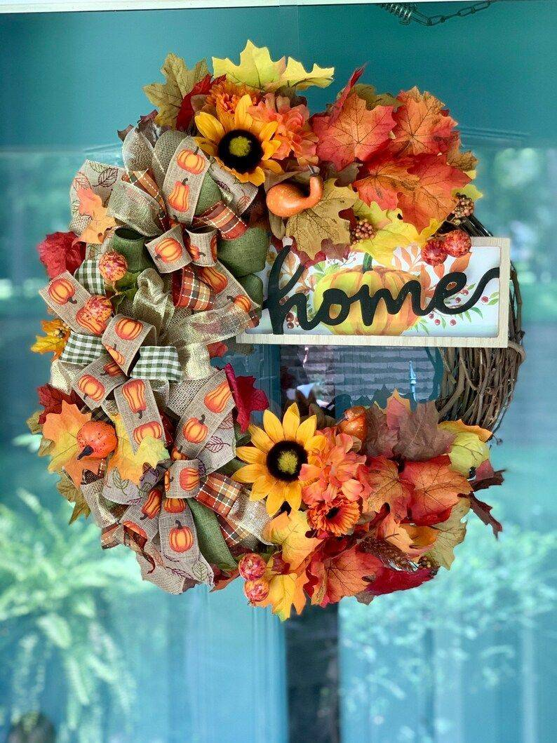 Fall Home Wreath