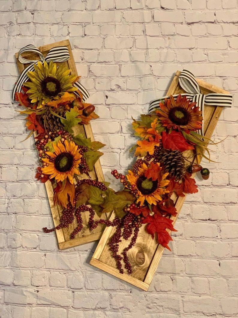 Handmade Fall Swag