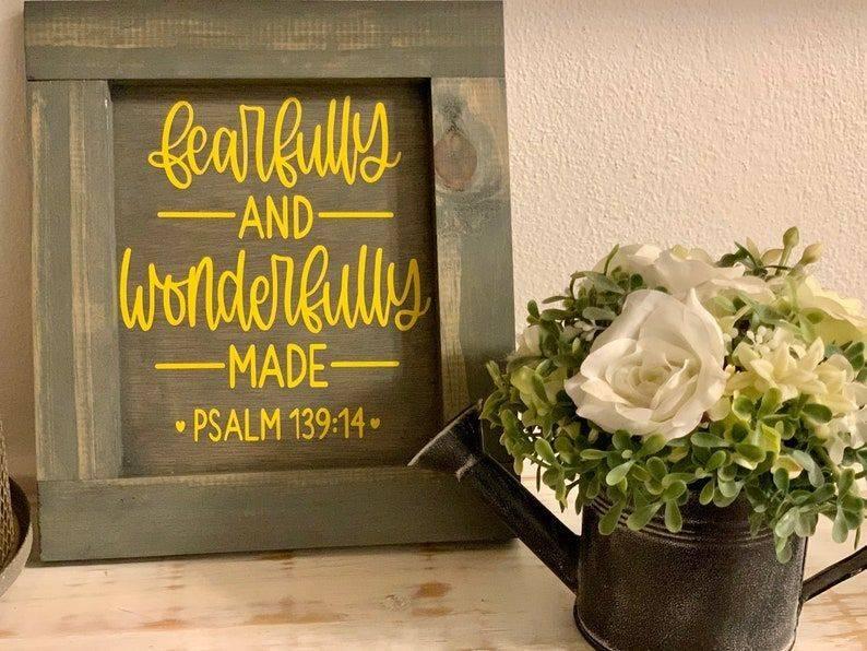 Handmade Christian  Wall Decor