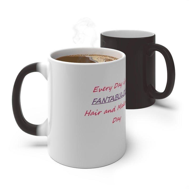 coffee cup, coffee mug, color changing mug