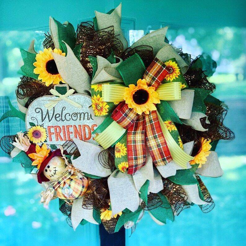 Fall Handmade Wreath