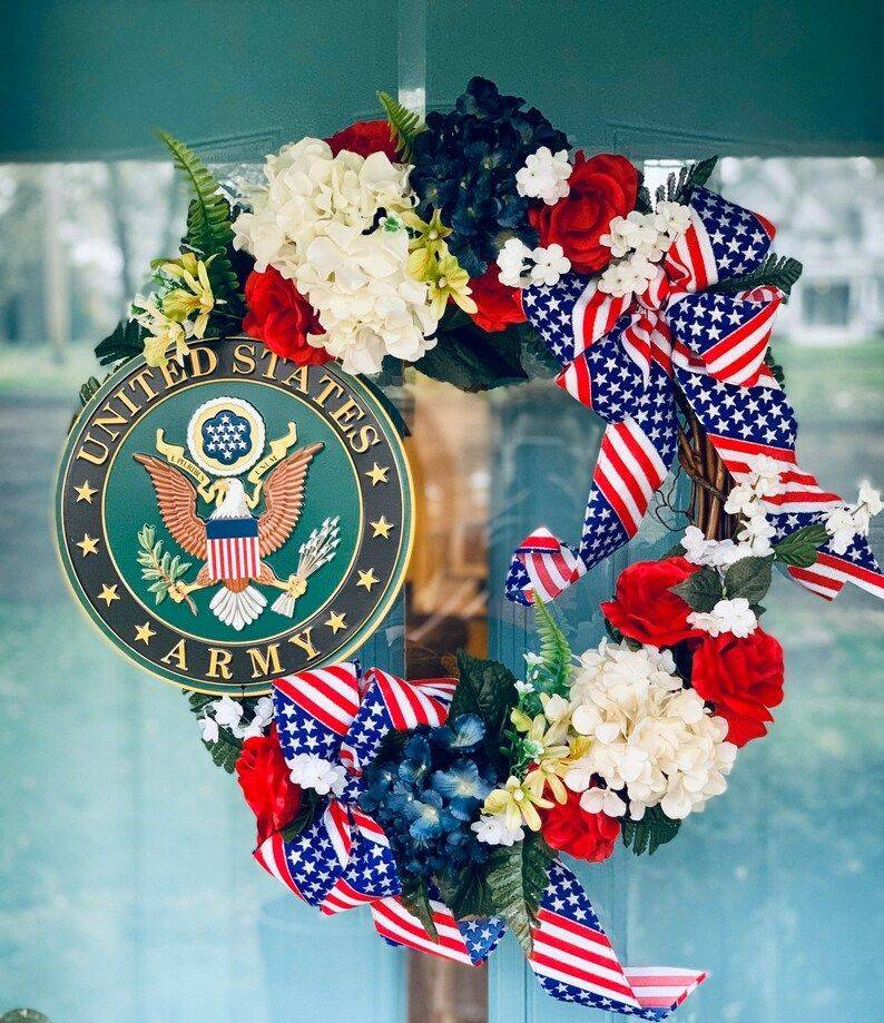 Army Appreciation Wreath