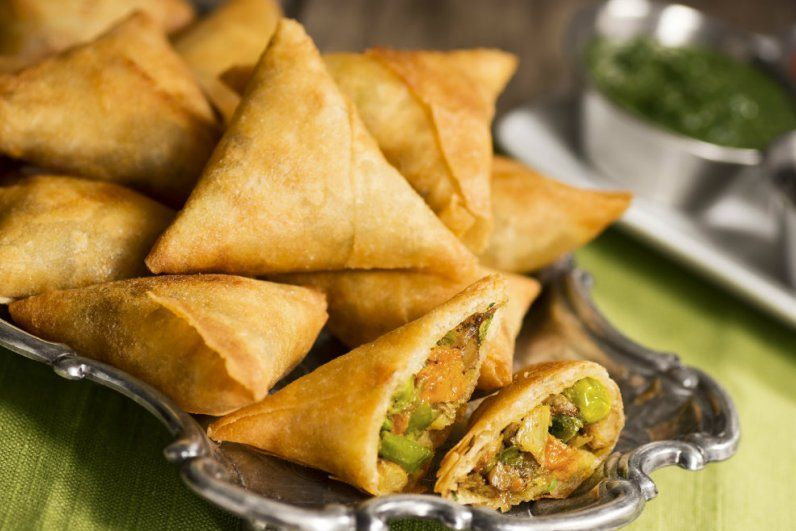 This is Vegetable Samosa