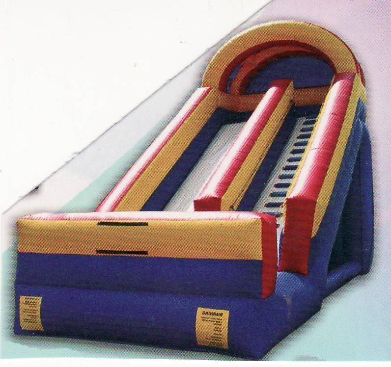 big slide alot of fun