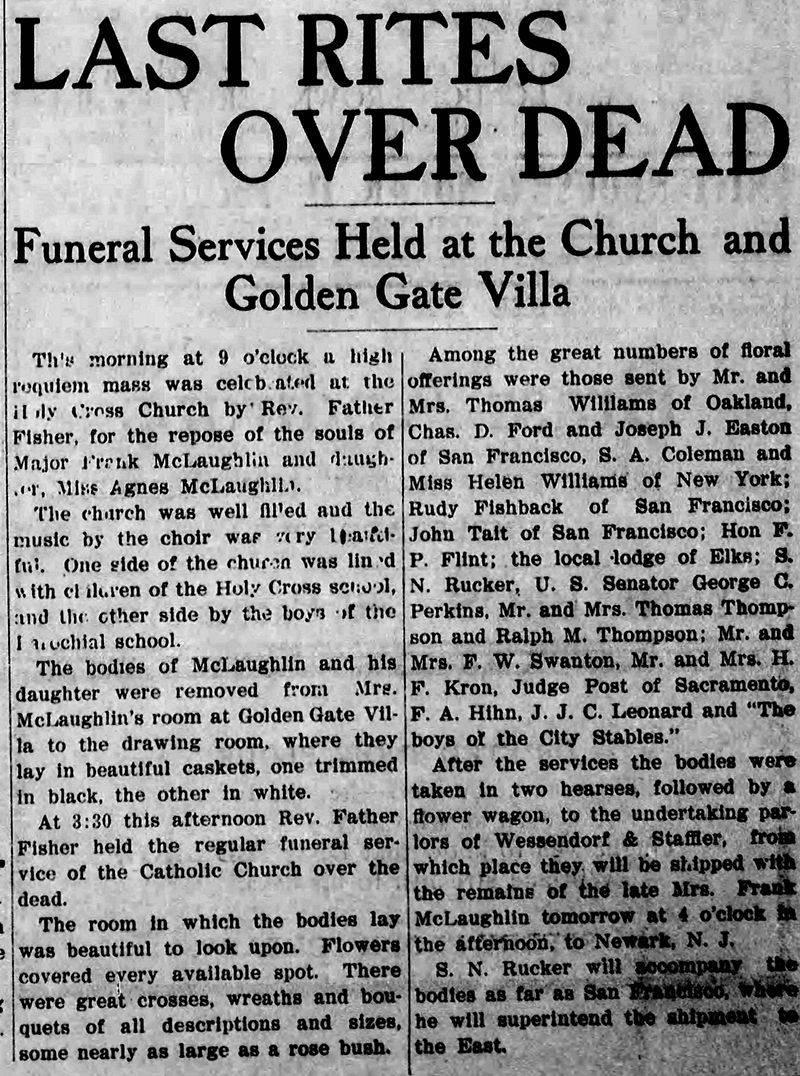 haunted  Golden Gate Villa deaths