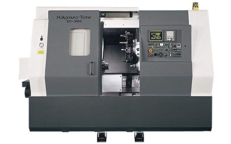 Nakamura SC-300 CNC LAthe
