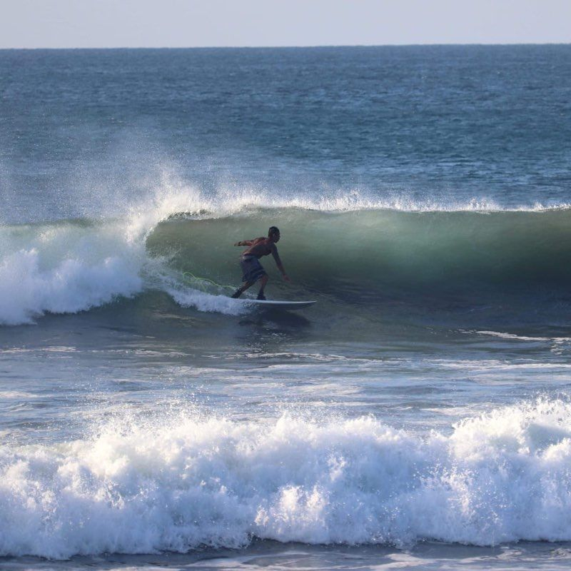 Surf Camps in Playa Carrillo, Costa Rica.   Beginner and Intermediate surf camps.  Pura Vida!!!