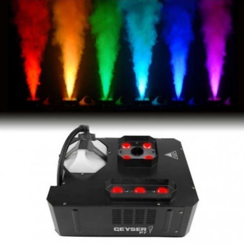 Chauvet Geyser 7 LED Fog Burst Machine for rent
