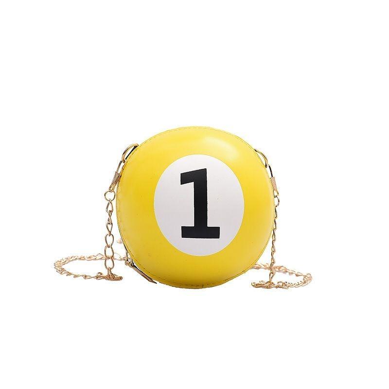 Pool Ball 1 purse