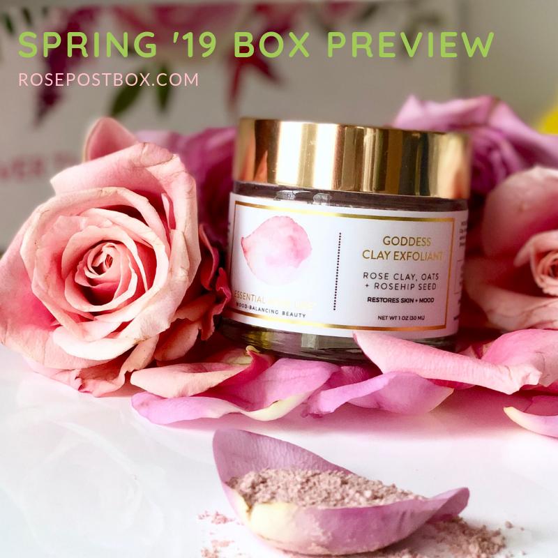 Clean Beauty Box, Aromatherapy Box, Bulgarian Rose Oil, Rose Oil, RosePost Fall Box, RosePost Box, Green Beauty Subscription, Rose Beauty Box, Green Beauty Box