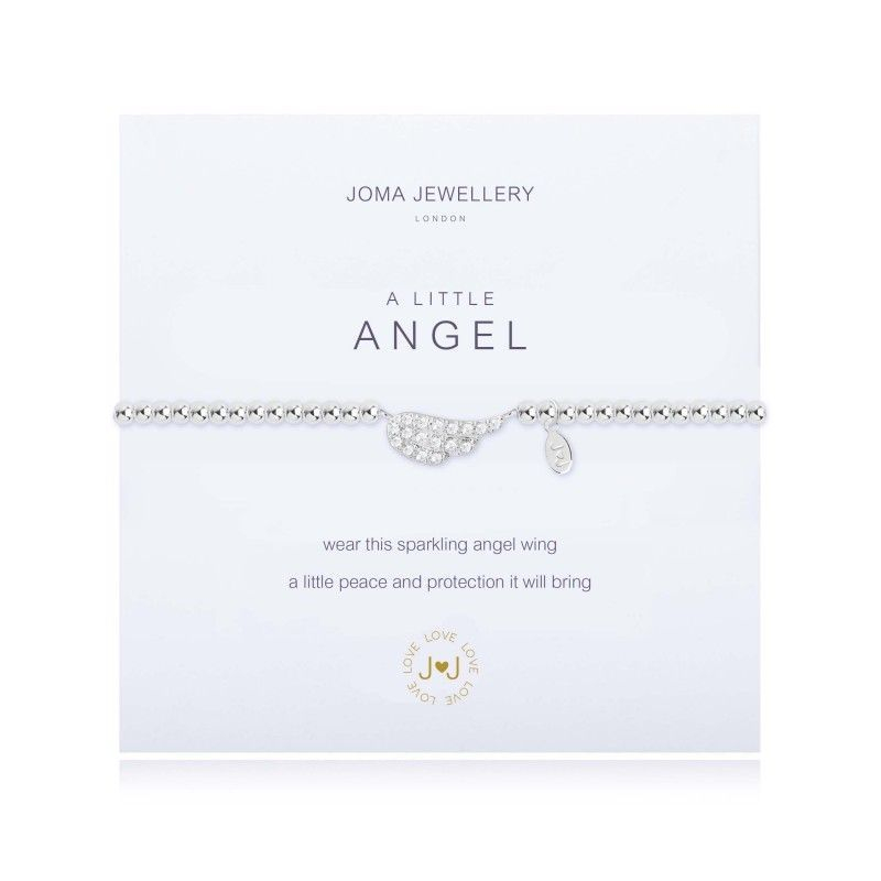 Joma Jewellery Gift Bracelet Angel Wing Birthday