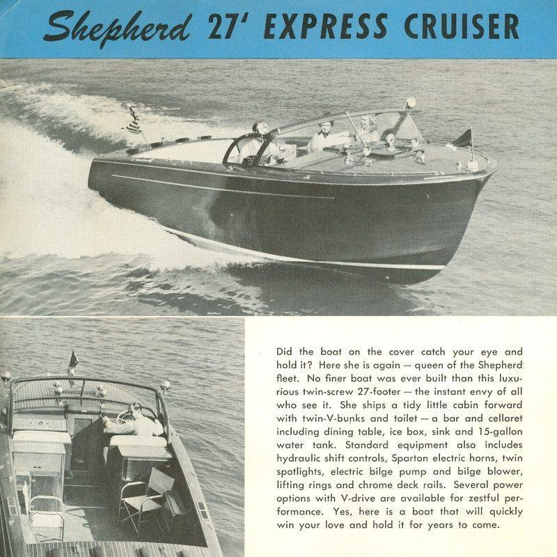 Shepherd 27' Express Cruiser