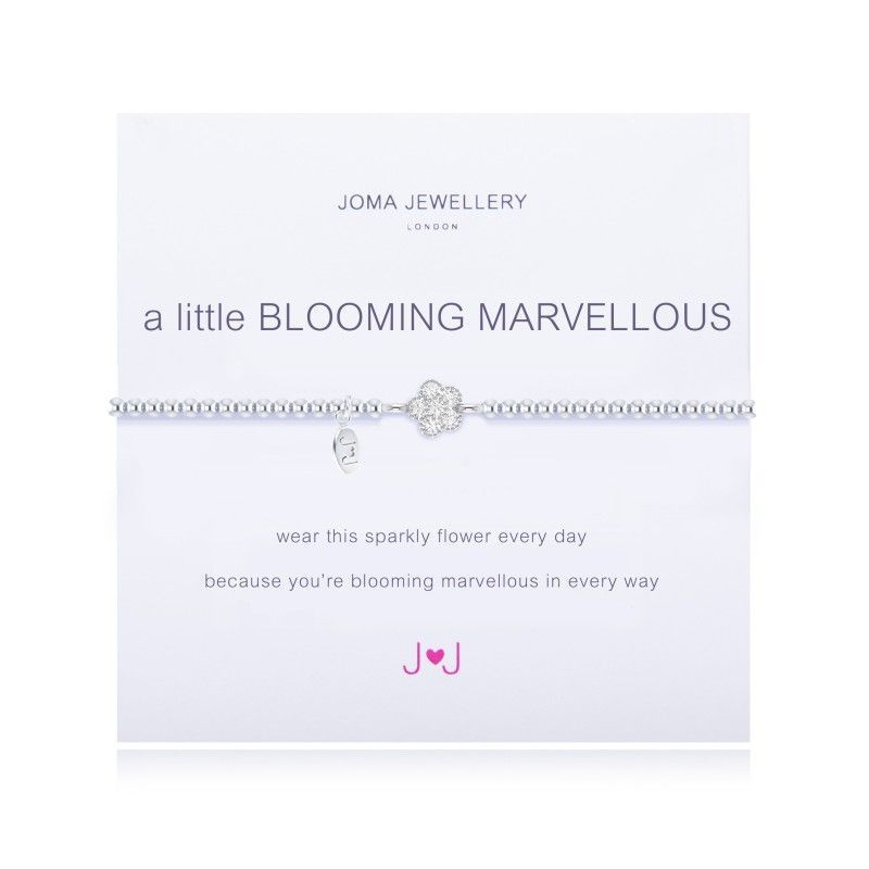 Joma Jewellery - 'A Little Blooming Marvellous' bracelet