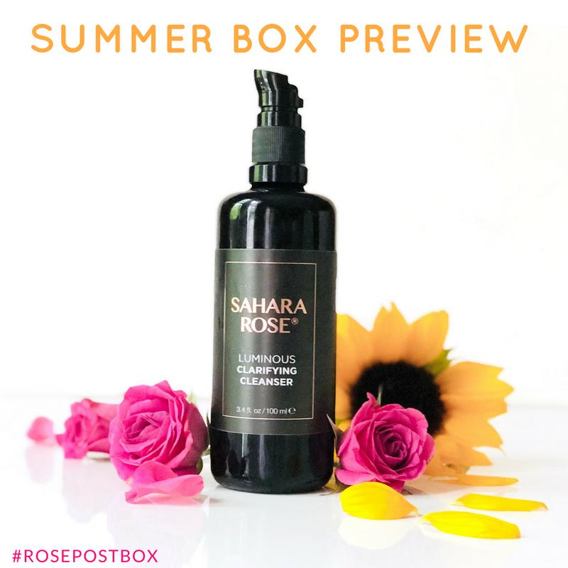 Rose Oil, Rose Water, RosePost Summer Box, RosePost Box, Green Beauty Subscription, Rose Beauty Box, Green Beauty Box, Sahara Rose