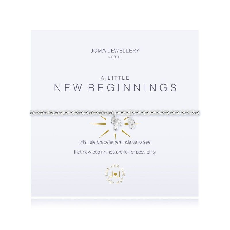 Joma Jewellery Gift Bracelet Birthday Start beginnings leaving