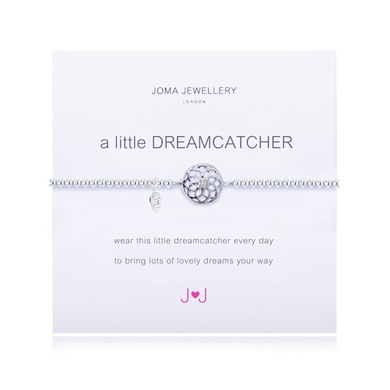 Joma Jewellery Gift Bracelet Dreamcatcher Silver