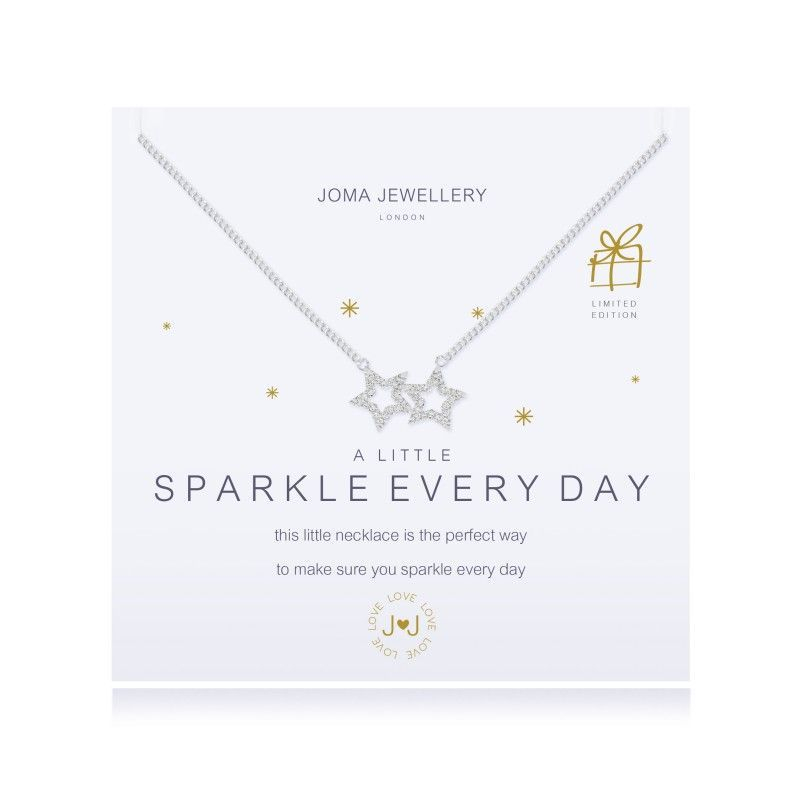 Joma Jewellery necklace gift sparkle birthday star charm