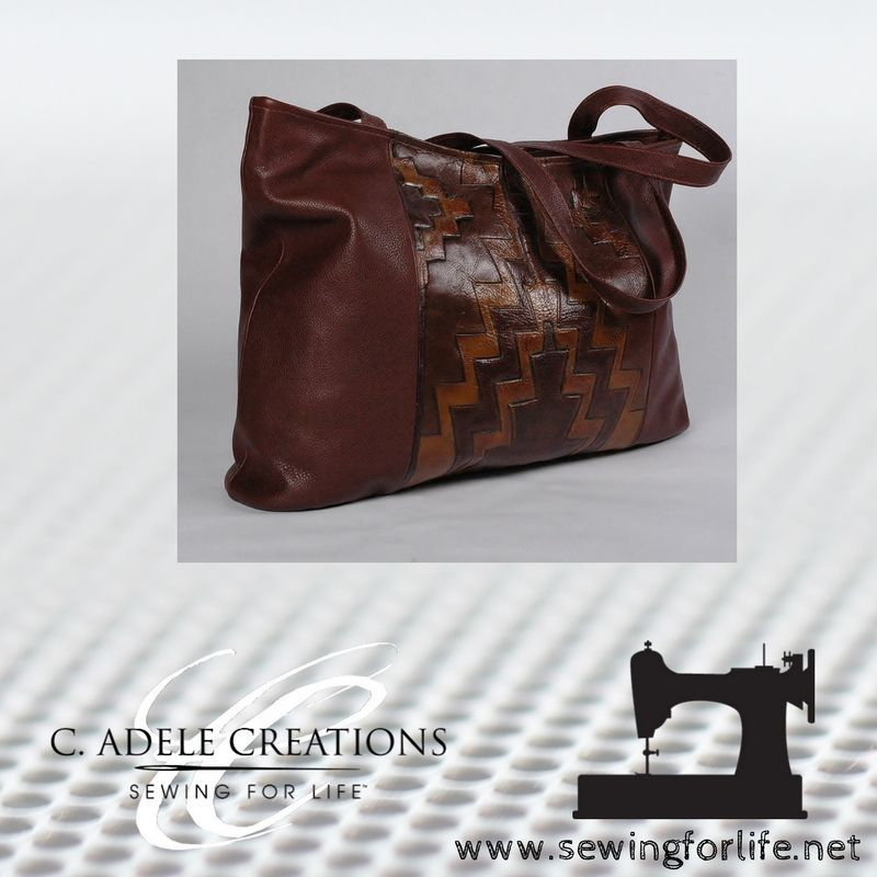 Leather accessories by Carla A. Robertson