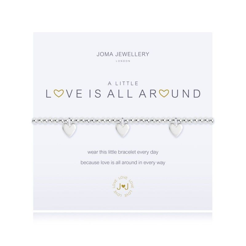 Joma Jewellery - 'A Little Love Is All Around' bracelet