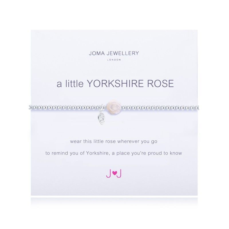 Joma Jewellery Yorkshire Rose Gift Pearl