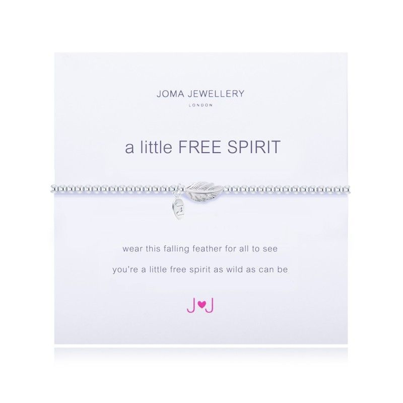 Joma Jewellery FREE SPIRIT hippy angel gift birthday present feather